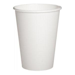 Бумажный белый стакан 500 мл