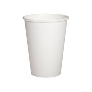 Бумажный белый стакан 250 мл