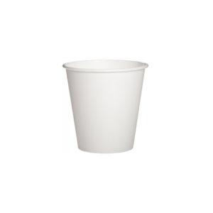 Бумажный белый стакан 110 мл