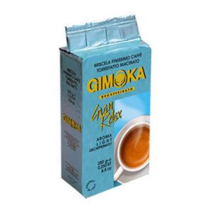 Молотый кофе Gimoka GRAN RELAX DEC (без кофеина), 250г