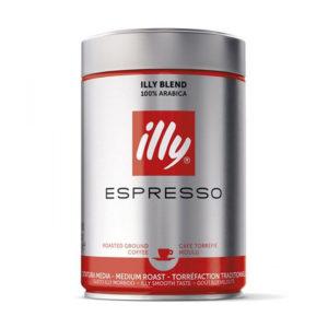 Кофе молотый illy normal ж/б, 250 гр