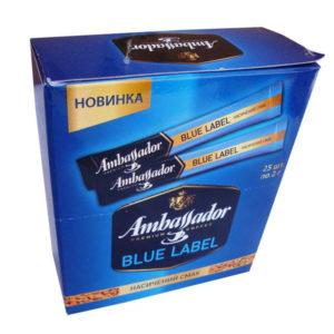 Кофе растворимы Ambassador Blue Label в стиках 2г (25шт)