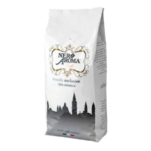 Кофе NERO AROMA EXCLUSIVE 100% ARABICA 1 кг