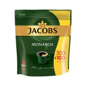 Кофе растворимый Jacobs Monarch эконом пакет 400 г